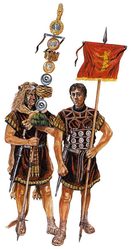 Картинки римских штандартах
