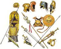 Оружие и доспехи иберийского воина