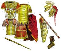 Доспехи и снаряжение римских офицеров и военачальников