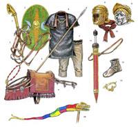 Доспехи и снаряжение римского всадника