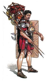 Легионер на марше