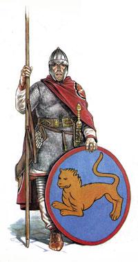 Воин Восточной Римской империи