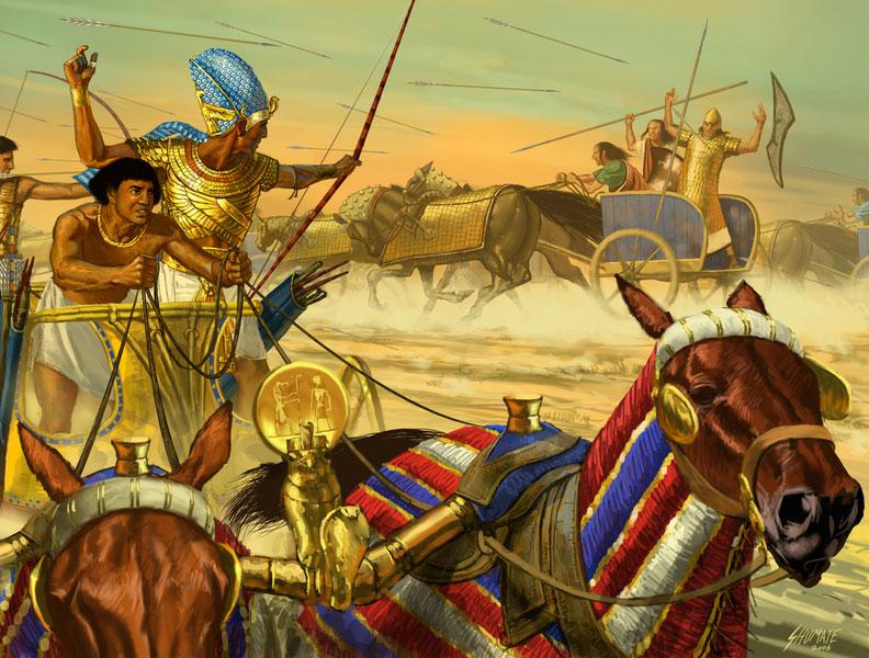 Битва при Кадеше, 1274 г. до