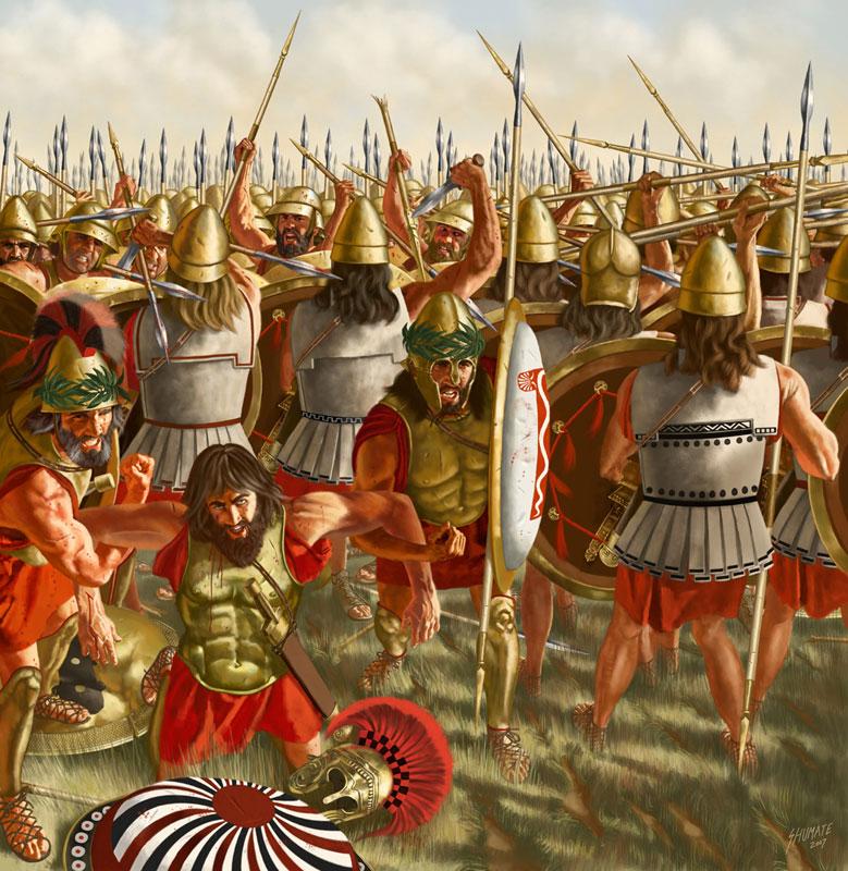 древние воины картинки