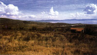 Место Ганнибаловой засады на Тразименском озере